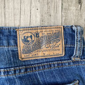 Vigoss Jeans - Vigoss Studio Manhattan Skinny Dark Wash Jeans 27